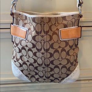 COACH | signature leather cross body bag
